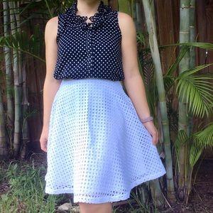 Reed Eyelet Skirt